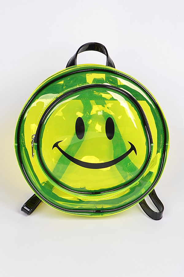 Smile Clear Backpack - orangeshine.com