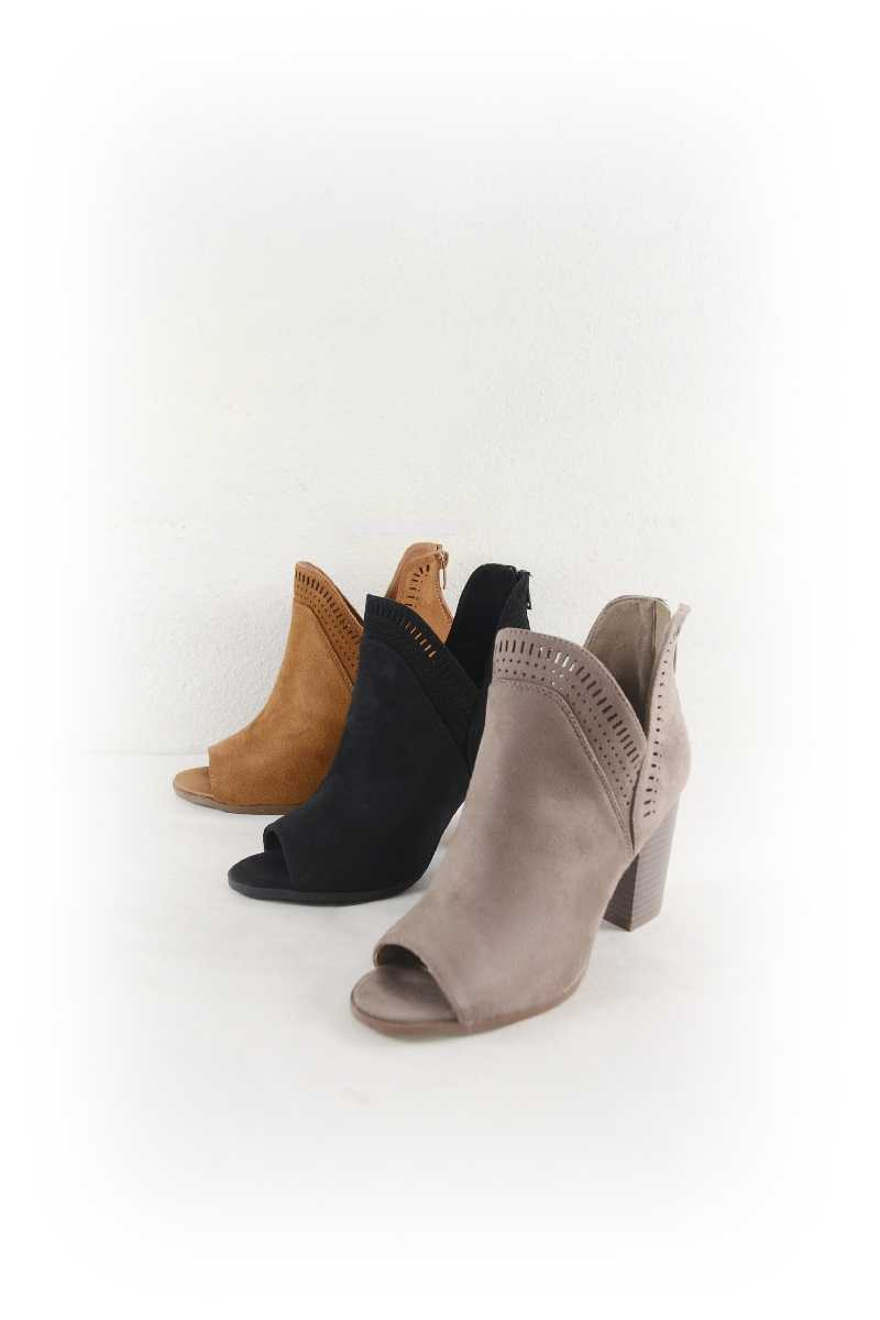 Women Cut-off Bootie - orangeshine.com