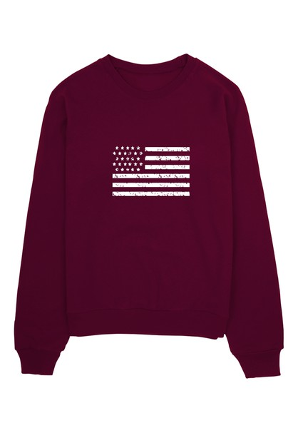 AMERICAN FLAG SWEATER - orangeshine.com