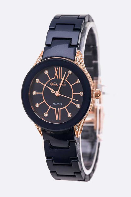 Roman Number Fashion Bracelet Watch - orangeshine.com