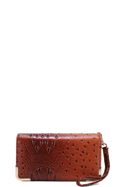 CROCO TEXTURED MULTI POCKET THICK WA - orangeshine.com