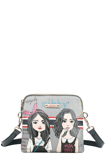 TWIN SISTER CROSSBODY - orangeshine.com