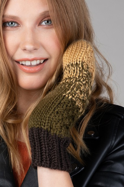 Multicolored Mittens - orangeshine.com
