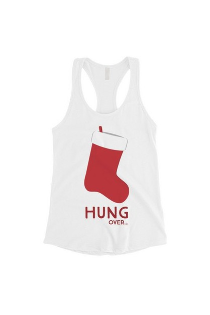 Hung Over Stocking Tank Top - orangeshine.com