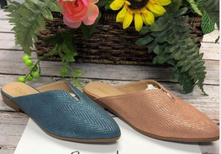 2 COLORS MULES - orangeshine.com