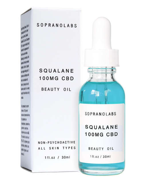 OLIVE SQUALENE CBD Vegan Beauty Oil - orangeshine.com