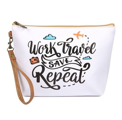 WORK TRAVEL REPEAT COSMETIC BAG - orangeshine.com
