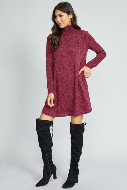 NO EXCUSE KNIT DRESS - orangeshine.com
