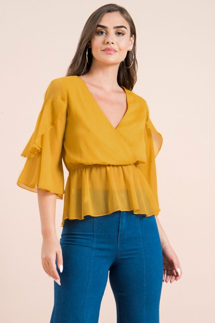 SOLID TIO W SURPLUS BODICE - orangeshine.com