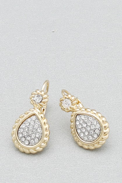 CZ DANGLE EARRING - orangeshine.com