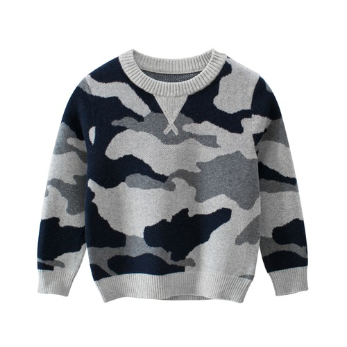 Camo print sweater - orangeshine.com