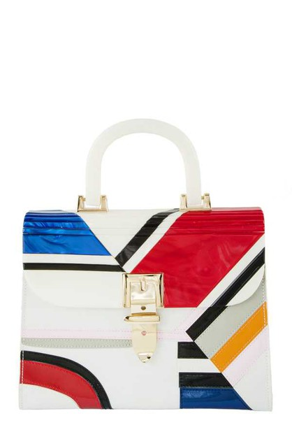 Color Block Formica Bag - orangeshine.com