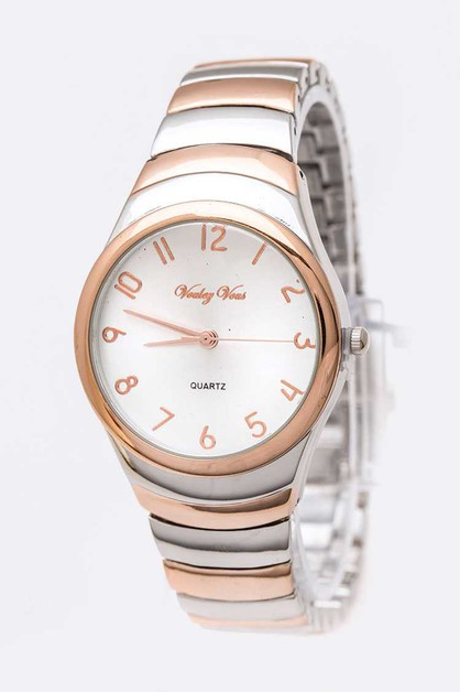 Classic Dial Fashion Watch - orangeshine.com