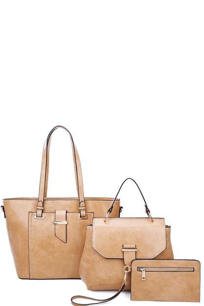 STYLISH SHOPPER CROSSBODY CLUTCH SET - orangeshine.com