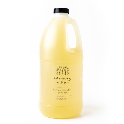 Lavender Liquid Soap Refill 64oz - orangeshine.com