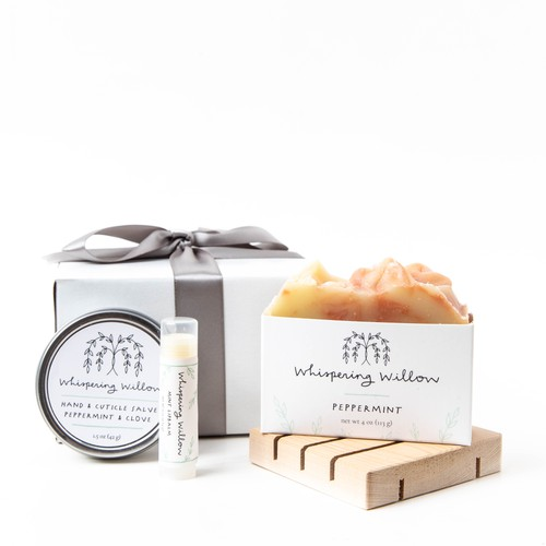 Peppermint Eco Friendly Gift Box - orangeshine.com