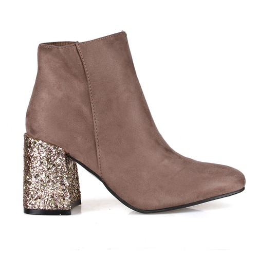 Belmont-01 High Heel Booties - orangeshine.com