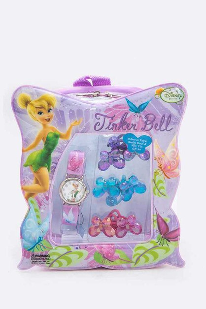 Tinker Bell Kids Watch Ponytail Jewe - orangeshine.com
