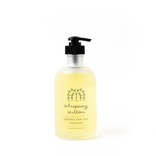 Peppermint Liquid Soap 8oz - orangeshine.com
