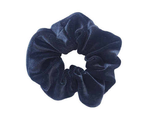 Black Velvet Scrunchie - orangeshine.com