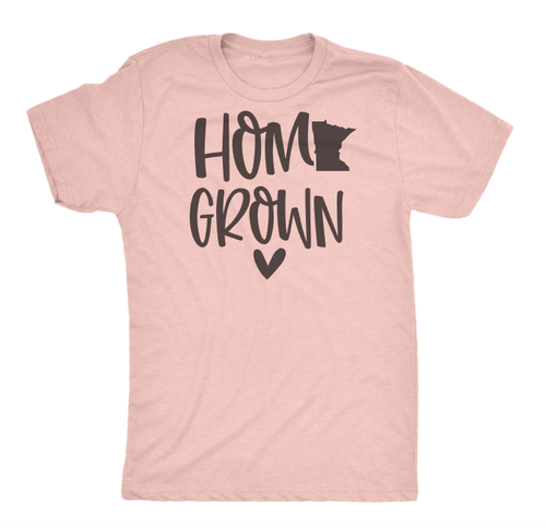 MN HOME GROWN UNISEX T-SHIRT - orangeshine.com