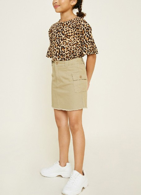 Cargo Mini Skirt - orangeshine.com