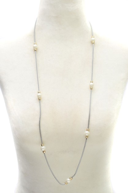 PEARL NECKLACE - orangeshine.com