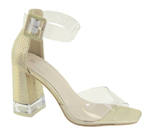 LADIES CLEAR OPEN TOE SANDALS - orangeshine.com