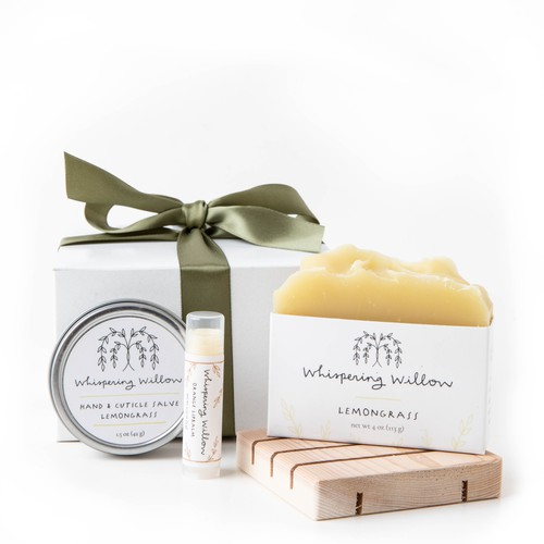 Lemongrass Eco Friendly Gift Box - orangeshine.com