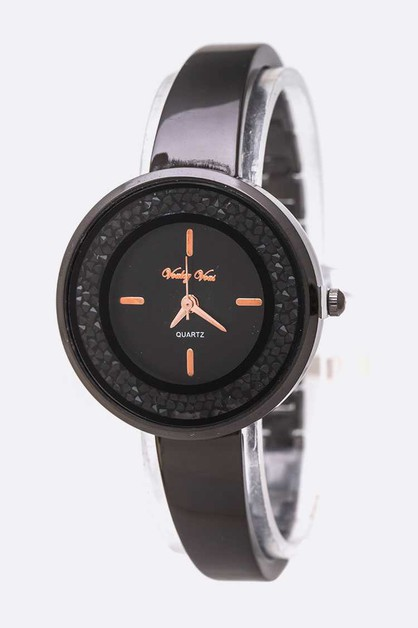 Crystal Druzy Iconic Fashion Watch - orangeshine.com