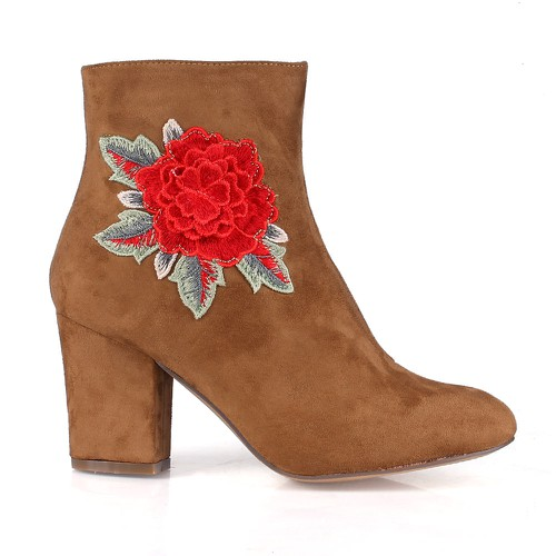 Rica-01 High Heel Booties - orangeshine.com