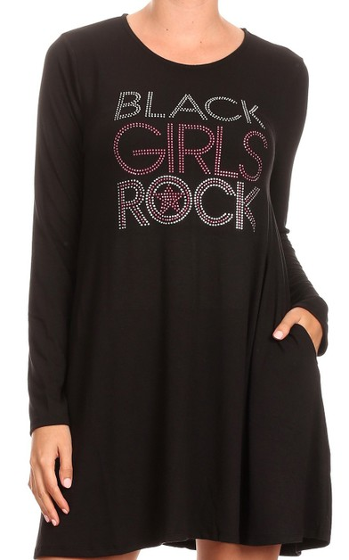 BLACK GIRLS ROCK Tunic - orangeshine.com