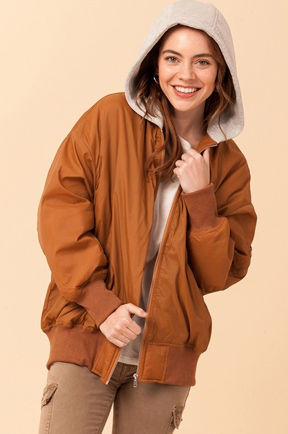 WANDER LUST PUFFY JACKET - orangeshine.com