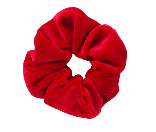 Red Velvet Scrunchie - orangeshine.com