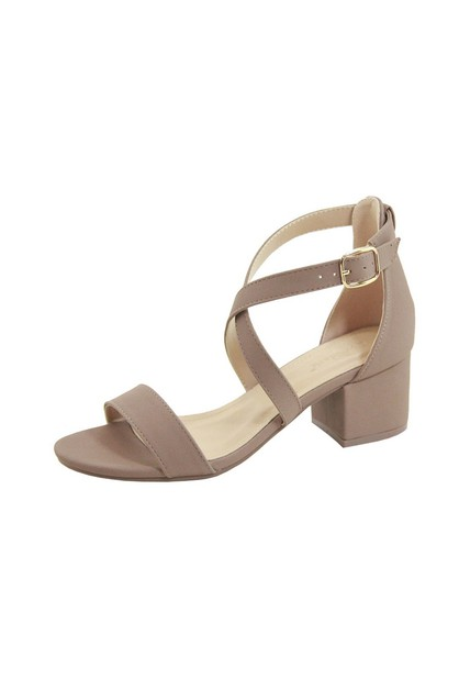 ONE STRAP ANKLE STRAP Metal buckle - orangeshine.com