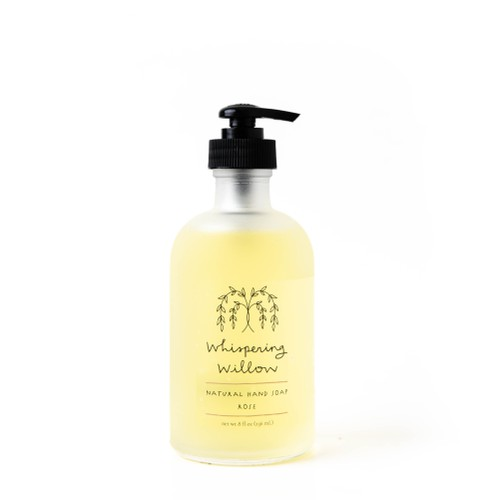 Rose Liquid Soap 8oz - orangeshine.com