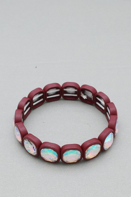 STONE STRETCH BRACELET - orangeshine.com