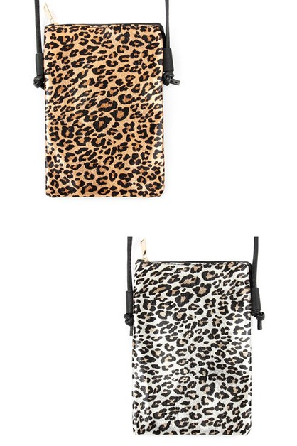 LEOPARD CROSS BODY BAG - orangeshine.com
