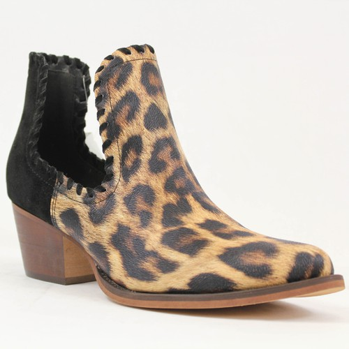 SNAKE LEATHER POINTY TOE ANKLE BOOTS - orangeshine.com