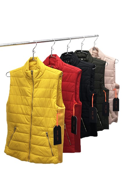 ULTRA LIGHT PUFFER VEST - orangeshine.com