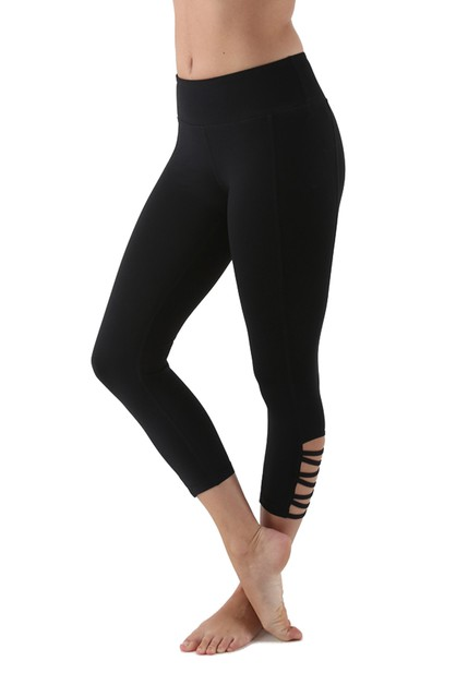 Active Yoga Fitness Capri Leggings - orangeshine.com