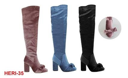 WOMEN OVER THE KNEE HIGH BOOTS - orangeshine.com