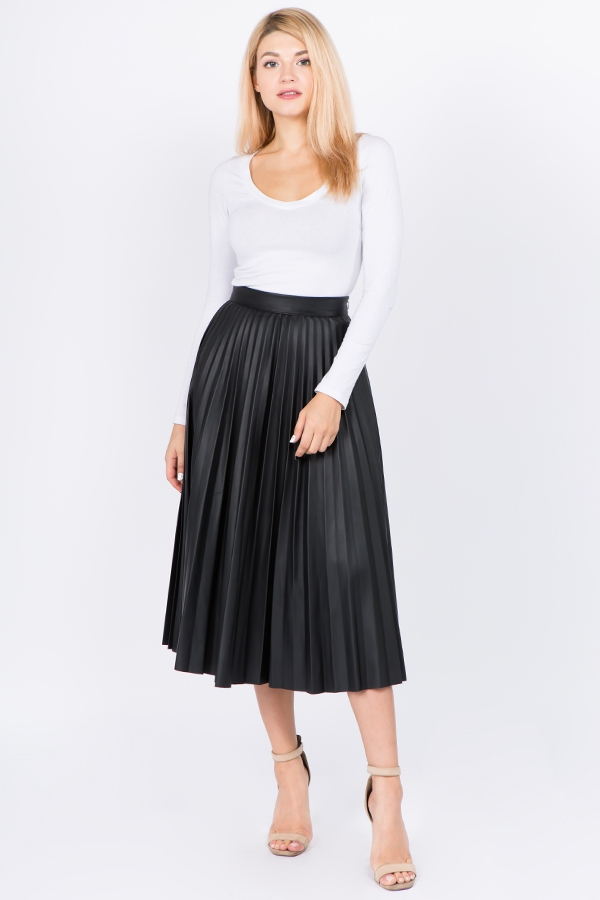 PLEATED SKIRT - orangeshine.com