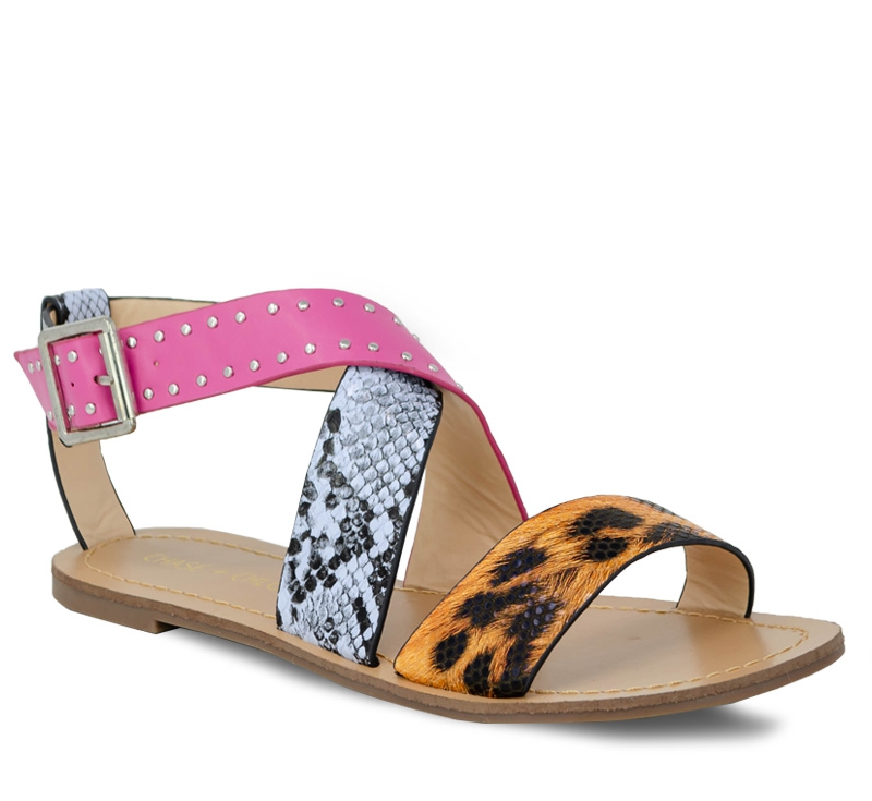 WOMENS BRAND ANKLE STRAP SANDALS - orangeshine.com