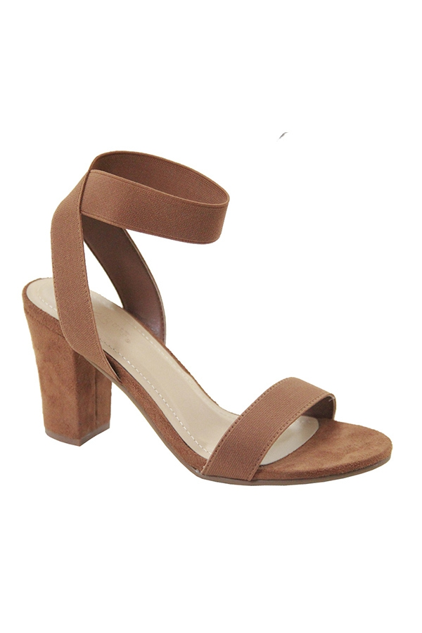 OPEN PLAIN HIGH HEEL WITH ANKLE STRA - orangeshine.com