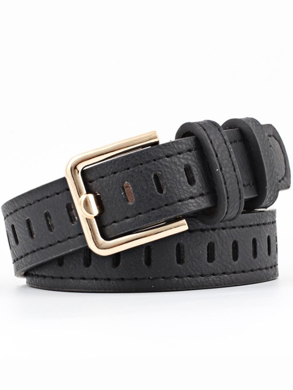 Oval Eyelet Adjustable Belts - orangeshine.com