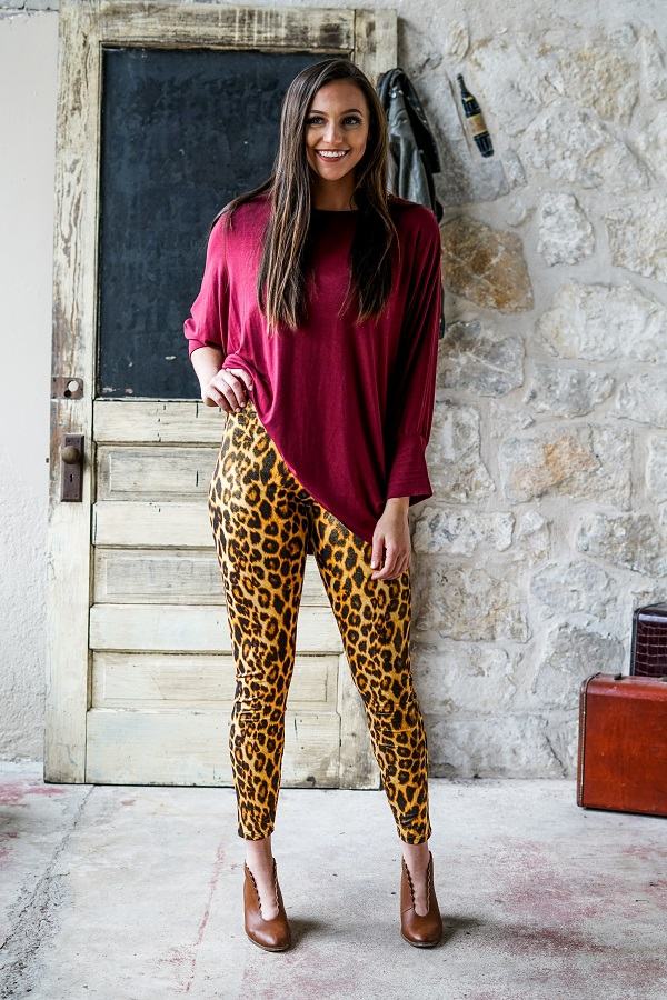 HIGH WAISTED LEGGINGS - orangeshine.com