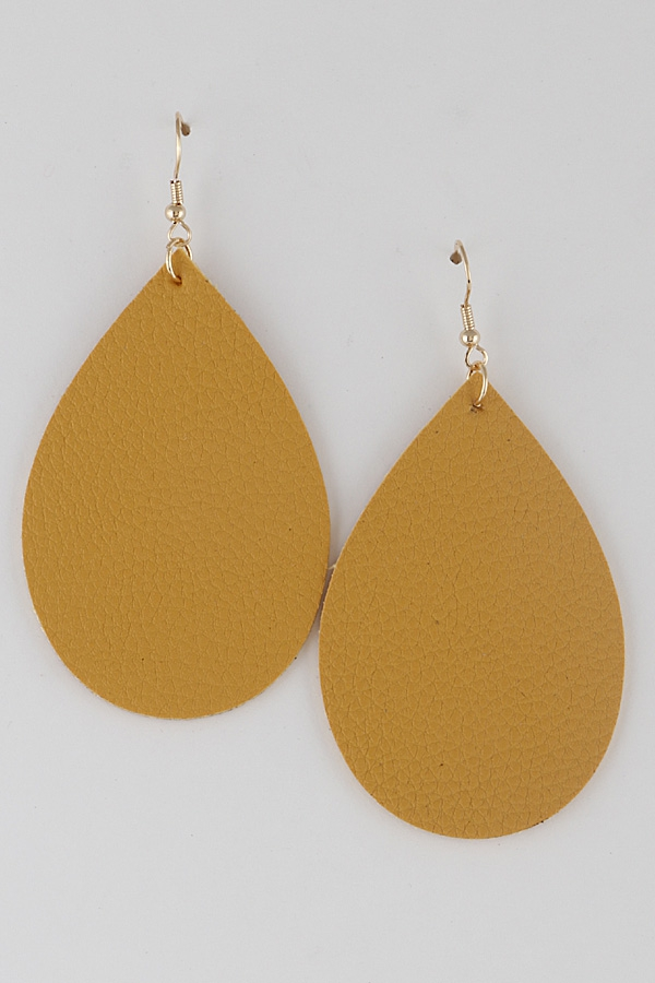 Teardrop Classic Earrings 8KAB7 - orangeshine.com