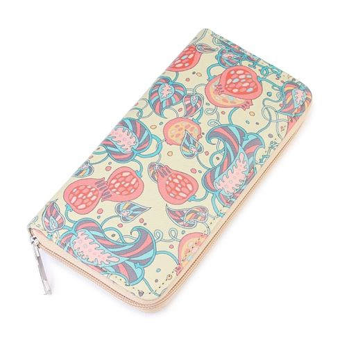 PAISLEY PRINT FASHION WALLET - orangeshine.com
