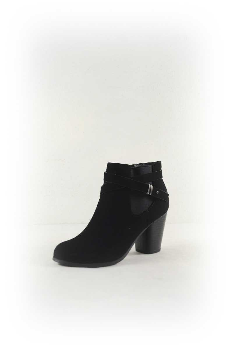 CROSS BAND BOOTIES - orangeshine.com